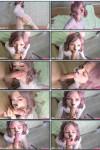 Сперма на волосы и лицо после знатного отсоса (2021) HD 1080p